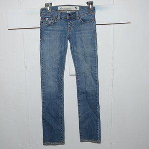 Abercrombie skinny maddy girls jeans size 14 slim